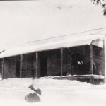 Built on Long Plain by Campbell Bros. from Ellerslie Station in 1916. Originally called Dr. Campbell's, later Oddy's then Col  Ibbotson's now Long Plain Homestead.  this photo C1937 - 1939