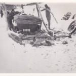 Car In Spot Of Bother Bullocks Hill 1930's